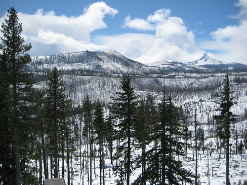 Mt. Washington, Oregon Cascades (3/30/10)