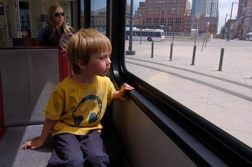 spontaneous train ride