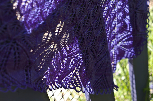 shawl detail