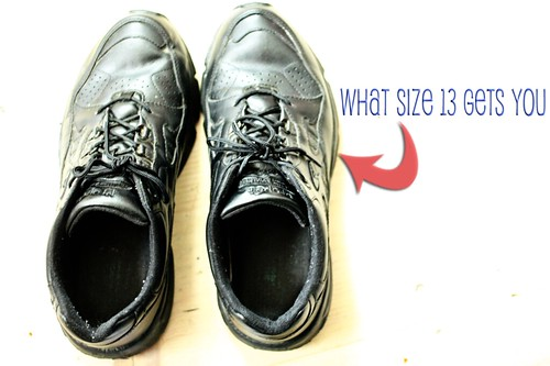 my giant shoes