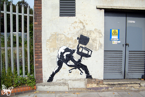 Banksy London Calling