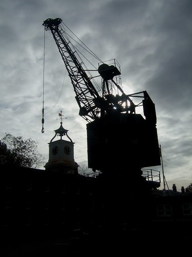 Crane and Clock Tower