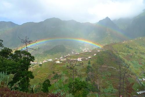 Madeira Rainbow in Autumn