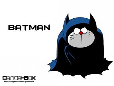 Batman Doraemon