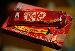 KitKat Sparkling Strawberry