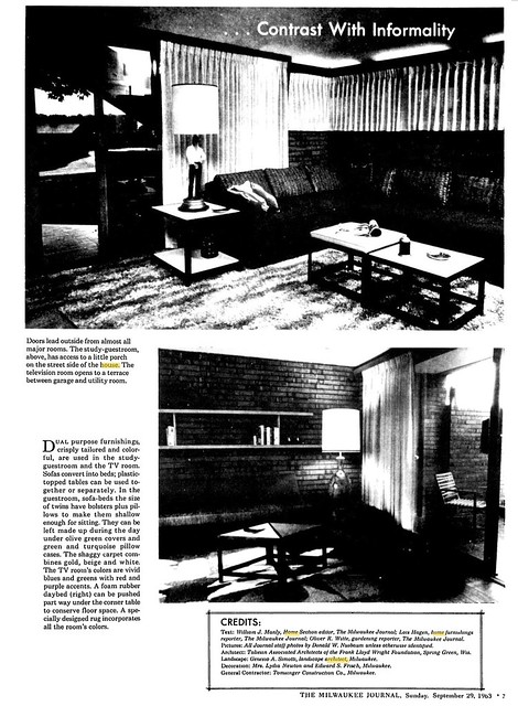 Milwaukee Journal - Ultimate House - 1963 (5 of 11)