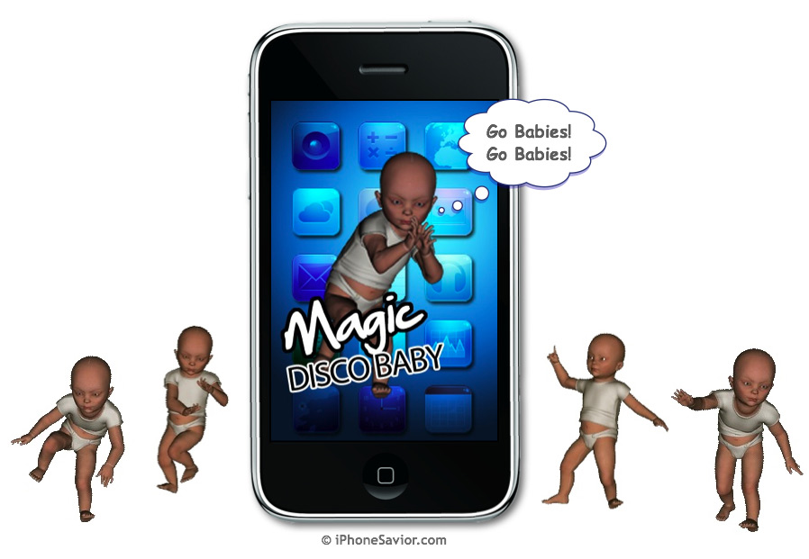 Magic Disco Baby iPhone App