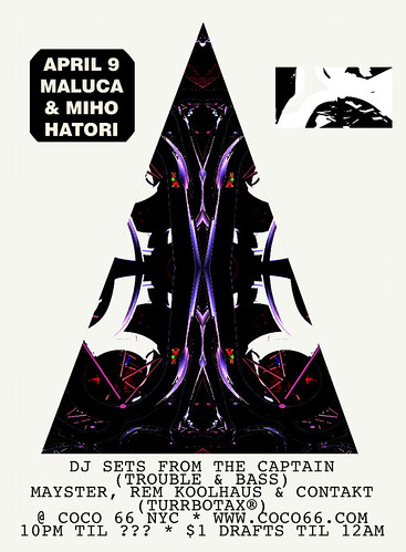 Maluca Brooklyn Coco 66 with TURRBOTAX® Trouble & Bass