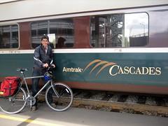 Bike + Train = Awesome