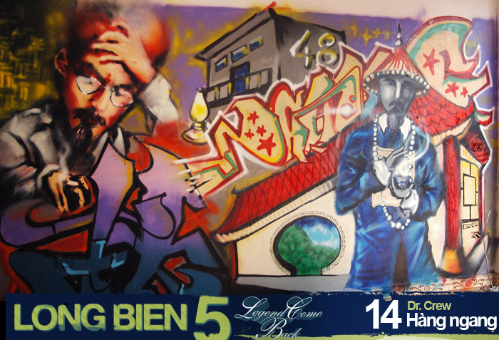 Long Biên 5 Graffiti Battle 12