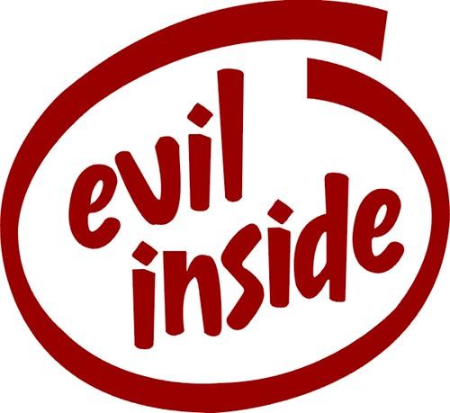 FOR BLOG - evil inside
