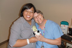 Our amazing sonographer, Mary!