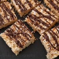 Toasted Coconut Rice Krispie Treats