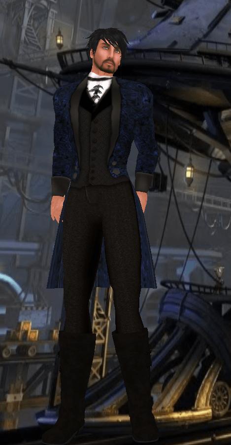 BlakOpal Sreampunk Formal Suit