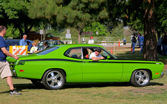 1971 Plymouth Duster 340 - green - svr