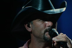 Tim McGraw at @ #WMT2010