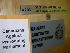 Canadians Against Proroguing Parliament