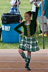 Grandfather Mountain Highland Games - Dancer