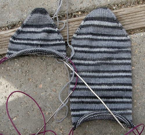 Film Noir socks