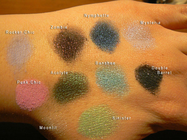 Evil Shades Cosmetics (artificial light)