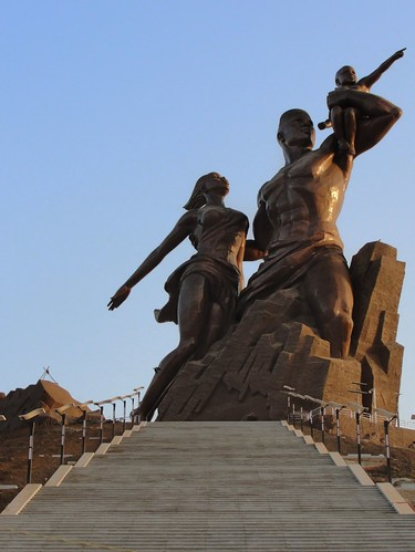 African Renaissance Monument by attawayjl.