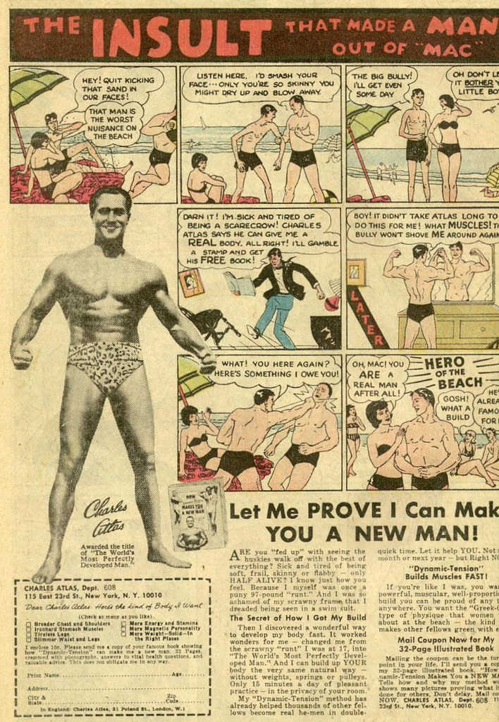 Charles Atlas Color