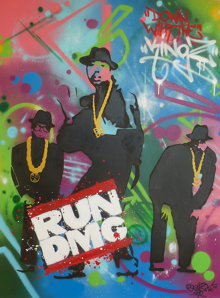 run dmc graffiti