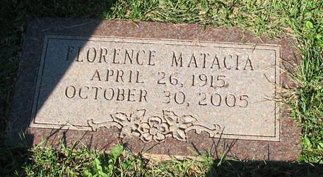 Matacia, Florence_grave
