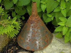 Rusty Funnel by TMWeddle @ Flickr