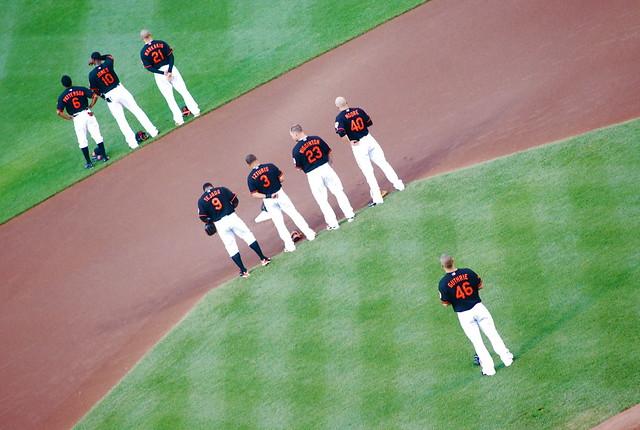 baseball: ny mets @ baltimore orioles