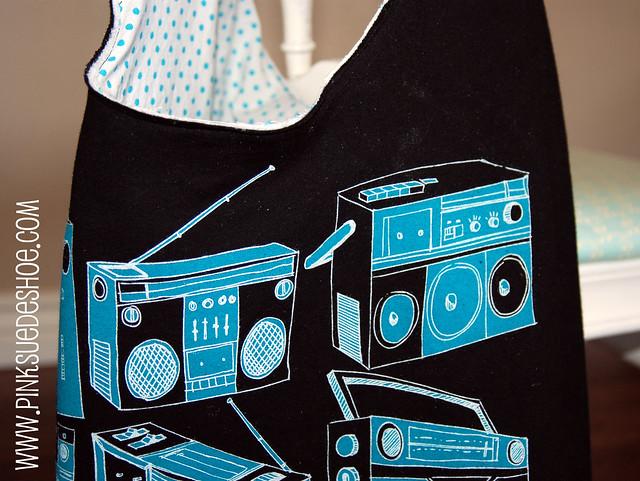 radio bag detail