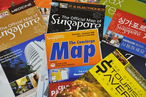 free Singapore restaurant guide