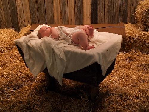 Baby Jesus in Manger Dec 16th