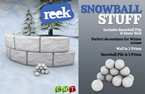 Reek - Snowball Stuff (Free Group Gift!)