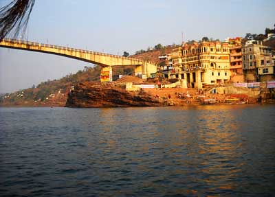 omkareshwar temple,india