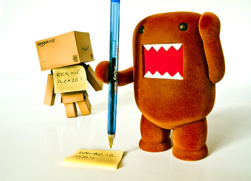 Domo was being nasty today... - Explored