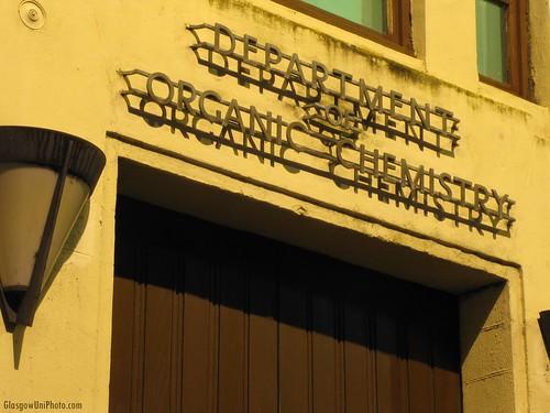 Department of Organic Chemistry