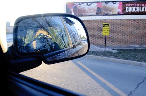 McDonald's Drive Through Reflections