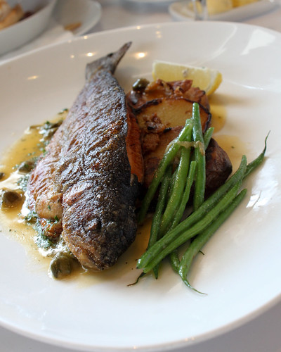 Roasted Whole Rainbow Trout at Lolo Dad's Brasserie