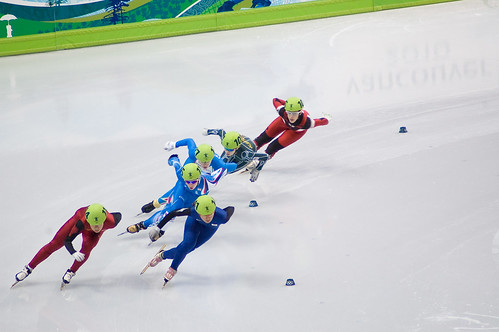Shot Track Speed Skating