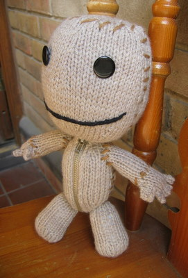 Sackboy side
