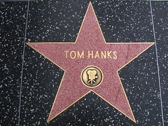 Tom Hanks' Star on Hollywood Boulevard