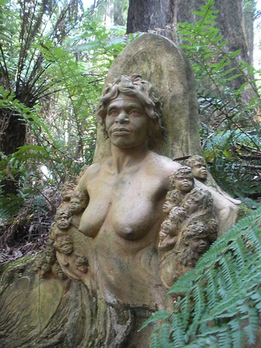 "William Ricketts Sanctuary - ""Earthly Mother"""