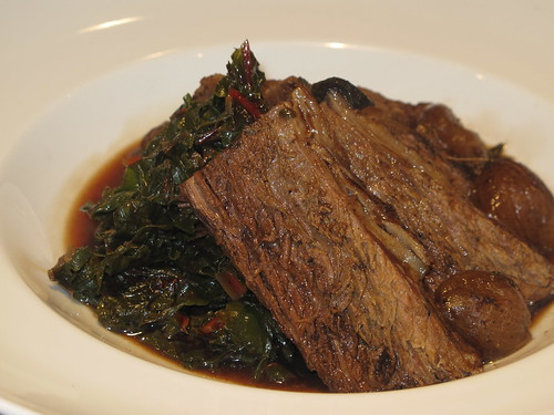 Brisket with Swiss Chard