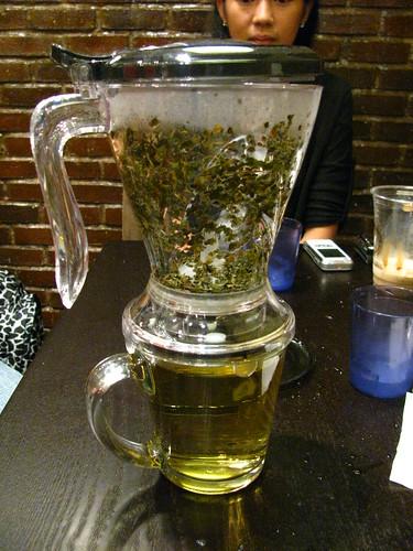Tea Brewing at Caffe Ti Amo