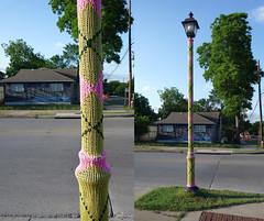 Guerilla Knitting in Austin