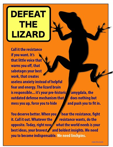 Defeat the lizard