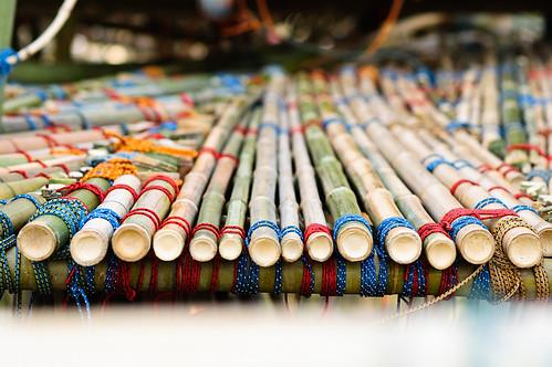 bamboo path & ties