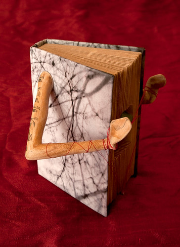 Altered Book: Without the Heart, There Can be no Understanding Between the Hand and the Mind