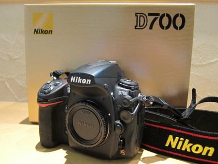 Nikon D700きた
